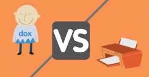 dox vs impresora